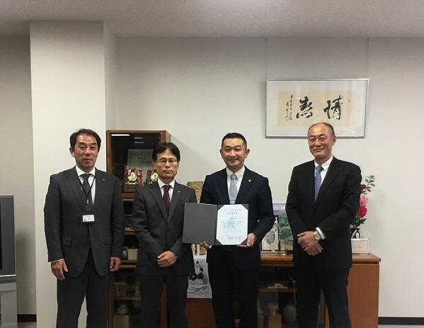 BCP特別保証の内定通知書を                静岡県信用保証協会より頂きました